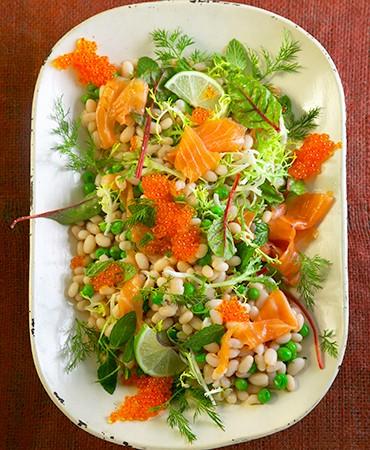 ensalada-de-judias-con-salmon