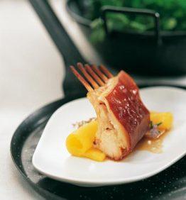 Cochinillo asado con Mango - Delicooks