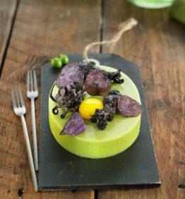 recetas-agar-agar-de-guisantes-con-chipirones
