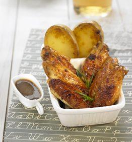 recetas-alas-de-pollo-caramelizadas