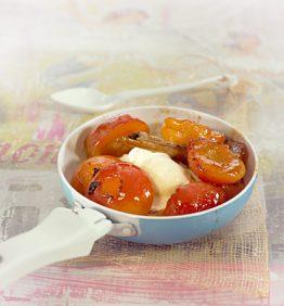 recetas-albaricoques-con-yogur-miel-y-naranja