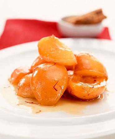 recetas-albaricoques-en-sirope-de-azafran