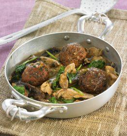recetas-albondigas-de-seitan-espinacas-y-setas