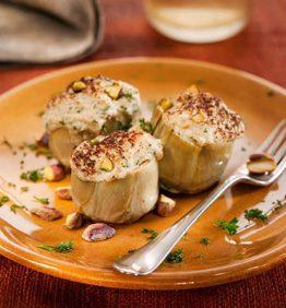 recetas-alcachofas-con-castanas-y-pistachos