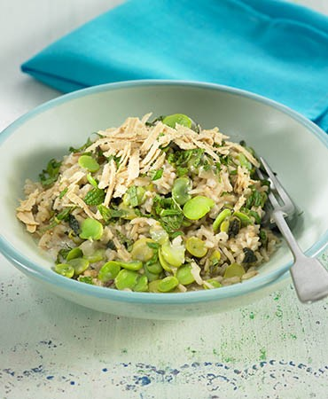 recetas-arroz-a-la-menta-con-habas