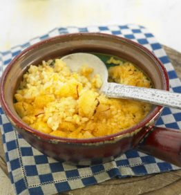 recetas-arroz-al-horno-con-coliflor-y-bacalao