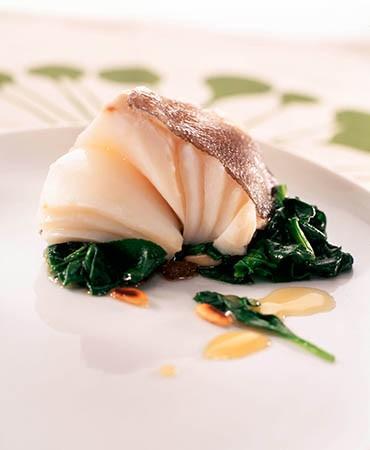 recetas-bacalao-con-miel-y-espinacas