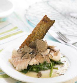 recetas-bacalao-con-trufa-y-espinacas