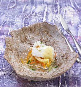 recetas-bacalao-pochado-con-alioli-de-azafran-y-avellanas