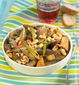 recetas-berenjenas-con-miso-ajos-tiernos-y-tofu