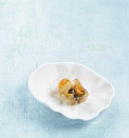recetas-bocadito-de-moluscos-y-huevas-de-salmon