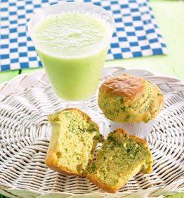 recetas-cake-verde-con-hierbas