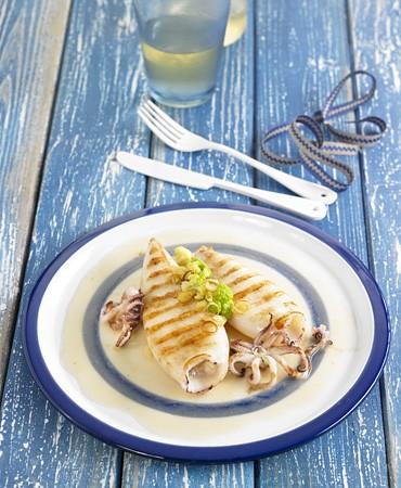 recetas-calamares-con-crema-de-judias-blancas-y-brocoli