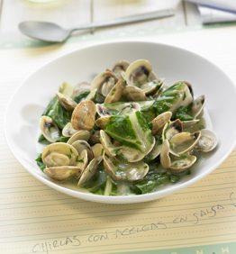 recetas-chirlas-con-acelgas-en-salsa-verde