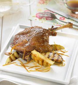 recetas-confit-de-pato-con-manzana