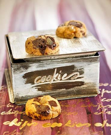 recetas-cookies-de-chocolate-y-jengibre