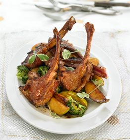 recetas-costillas-de-cabrito-caramelizado-al-horno-con-verduras