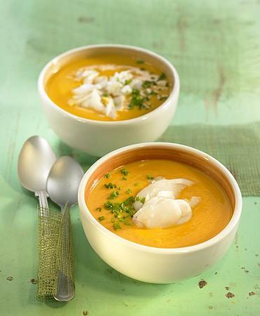 recetas-crema-de-calabaza-y-leche-de-coco-con-merluza