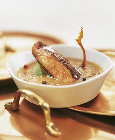 recetas-crema-de-lentejas-con-foie