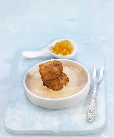 recetas-croquetas-de-arroz-con-leche-con-crema-de-turron-y-naranja-caramelizada