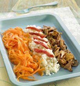 recetas-cuscus-de-coliflor-con-zanahoria-y-setas