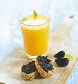 recetas-desayuno-con-ajo-negro