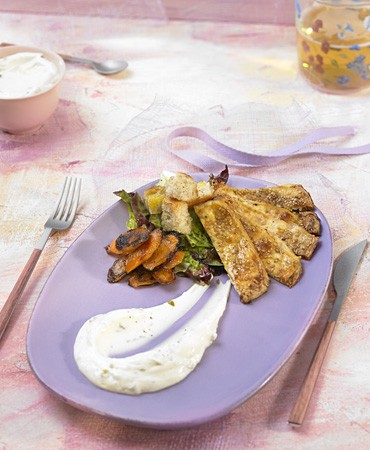 recetas-ensalada-caesar-vegana