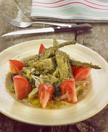 recetas-ensalada-de-alcachofas-asadas