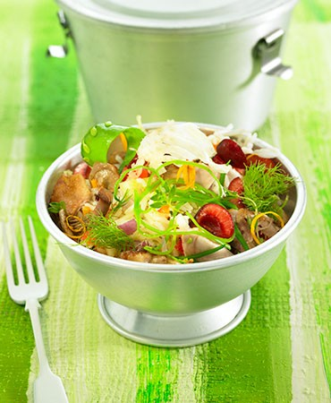 recetas-ensalada-de-arroz-y-conejo