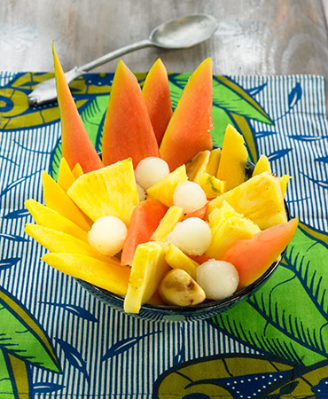 Ensalada de fruta tropical