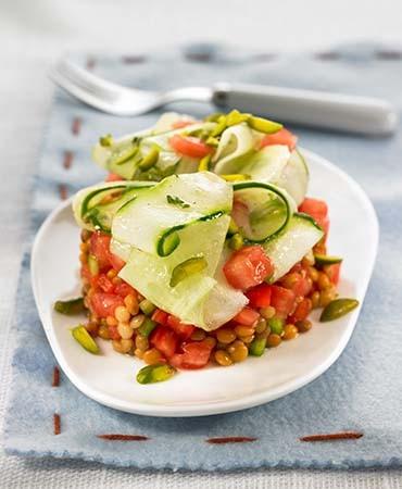 recetas-ensalada-de-lentejas-y-pepino