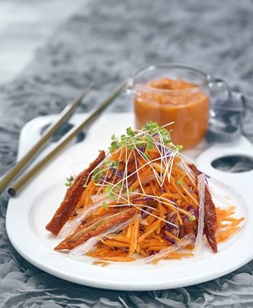 recetas-ensalada-de-zanahoria-tomates-secos-y-agar-agar