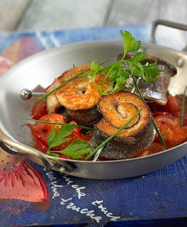 recetas-espiral-de-trucha-con-tomate-a-la-vainilla