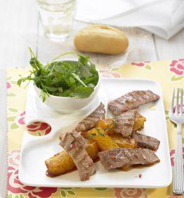 recetas-filetes-de-cerdo-con-fruta-caramelizada