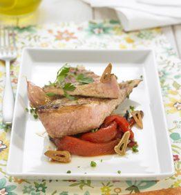 recetas-filetes-de-cerdo-con-pimientos