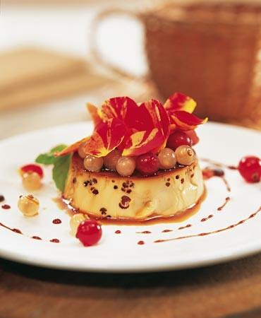 recetas-flan-con-grosellas-y-aroma-de-flores