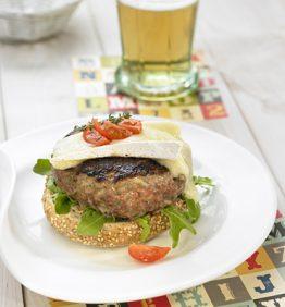 recetas-hamburguesa-con-queso-brie