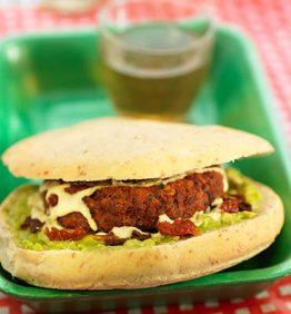 recetas-hamburguesa-de-mijo-y-soja