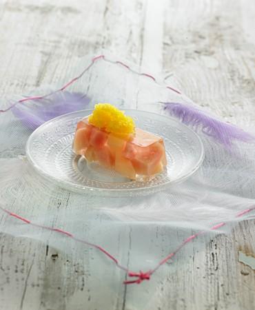 recetas-jalea-de-nectarina-con-granizado-de-mandarina