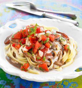 recetas-linguine-con-salsa-de-frijoles