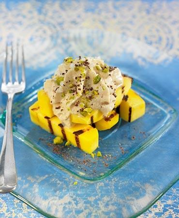 recetas-mango-a-la-plancha-con-espuma-de-foie