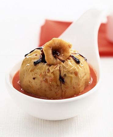 recetas-manzana-asada-con-salsa-roja