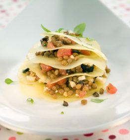recetas-mil-hojas-de-patata-con-picadillo-de-lenteja-pardina