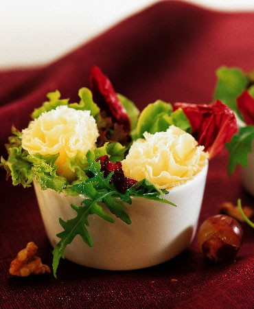 recetas-mini-ensaladas-con-flor-de-parmesano
