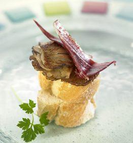 recetas-montadito-de-setas-de-cardo-y-jamon