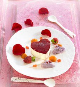 recetas-mousse-de-mascarpone-con-hibiscos-y-pimiento-rojo-caramelizado