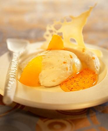 recetas-mousse-de-mato-galleta-de-miel-naranja-y-azafran