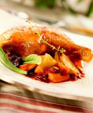 recetas-muslos-de-pavo-asados-con-verduras