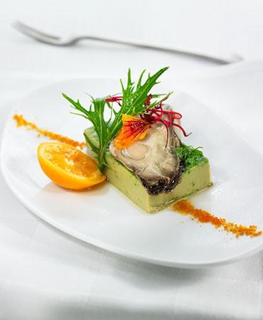 recetas-ostras-al-natural-sobre-un-flan-de-espinacas