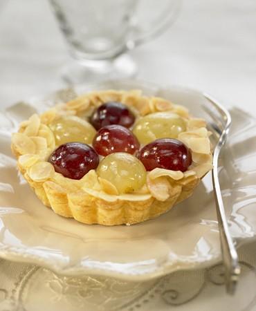 recetas-pastel-de-almendras-y-uvas